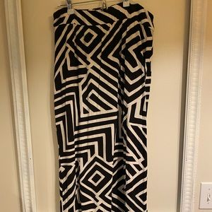 Graphic maxi from Anthropologie
